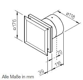 helios m1 120 f minivent ventil tor ultra silence p ra rz kel s nemes ventil torh z. Black Bedroom Furniture Sets. Home Design Ideas