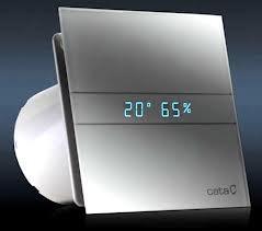 Cata E-100 GTH páraérzékelős ventilátor - Nemes Ventilátorház