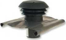 CTA 125 B PVC tetősapka ,antracit fekete