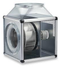 Helios GBD 450/4/4 T120 GigaBox radiálventilátor 120°C hőmérsékletig