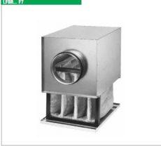 Helios LFBR 200 F7 szűrőbox, F7, pollen szűrővel