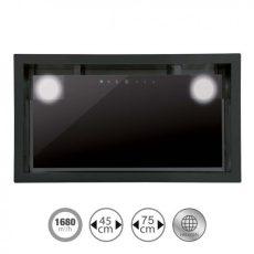 CATA GC Dual 45/B BK LED konyhai páraelszívó, fekete