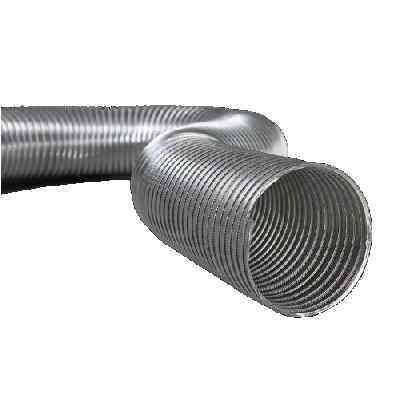 Semiflex Aluvent Félmerev aluminium cső NA100/3m