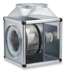 Helios GBW 450/4 T120 GigaBox radiálventilátor, 120°C hőmérsékletig
