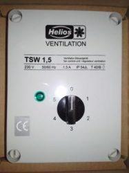 Helios TSW 7,5 Trafós fordulatszámszabályozó, 1~