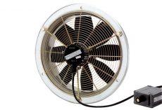 Maico Axiál fali ventilátor acél fali gyűrűvel, DN 400, háromfázisú váltóáram, robbanásbiztos, 4350 m3/h, DZS 40/4 B Ex e