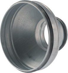 Gumitömítéses koncentrikus szűkítő idom,  horganyzott acél  NA180/160