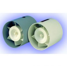TUBO 100 METAL Fém házas csőbe építhető ventilátor