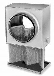 Helios LFBR 125 szűrőbox, G4, dupla sűrűsségű szűrővel
