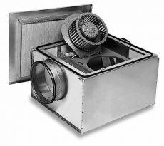 Helios SilentBox® SB 125C hangcsillapított ventilátor