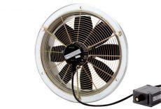 Maico DZS 35/6 B Ex e Axiál fali ventilátor acél fali gyűrűvel, DN 350, háromfázisú váltóáram, robbanásbiztos  Termékszám: 0094.0123