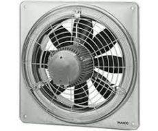 Maico EZQ 30/4 B Axiál fali ventilátor négyszögletes fali lemezzel, DN 300, váltóáram  Termékszám: 0083.0106