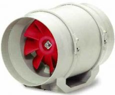 Helios MV EC 125 MultiVent csőventilátor, EC-kivitellel