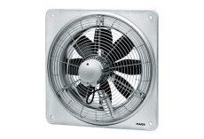Maico Axiál fali ventilátor négyszögletes fali lemezzel, DN 300, háromfázisú,1.850 m³/h, DZQ 30/4 B