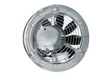 Maico Axiál fali ventilátor acél fali gyűrűvel, DN 250, háromfázisú váltóáram, 500-1100 m3/h, DZS 25/84 B