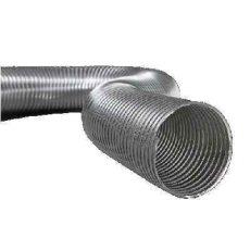 Semiflex Aluvent Félmerev aluminium cső NA150/1m AF150/1
