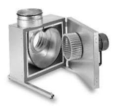 Helios MBD 355/2/2 MegaBox radiális ventilátor, 100°C-ig hőálló