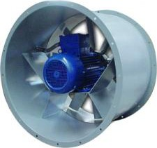 DUCT-M 634/4T-A csőperemes axiál ventilátor