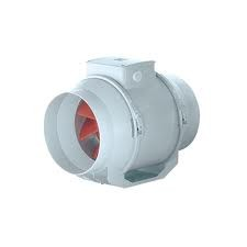 VORTICE LINEO 125 VO félradiális műanyagházas csőventilátor (17002)