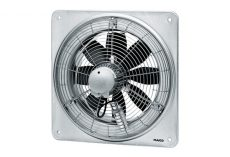 Maico DZQ 35/6 B Axiál fali ventilátor négyszögletes fali lemezzel, NA350, háromfázisú, 1.700m3/h UTOLSÓ DARAB AKCIÓ