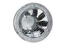 Maico Axiál fali ventilátor acél fali gyűrűvel, DN 400, háromfázisú váltóáram, 2500 m3/h DZS 40/6 B