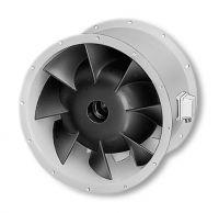 Helios RADAX  félaxiális csőventilátor, ~3, 400V, Y/∆ kapcsolás, VARD 315/2/2
