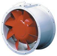 Helios RADAX  félaxiális csőventilátor, ~3, 400V, Y/∆ kapcsolás, VARD 450/4/4