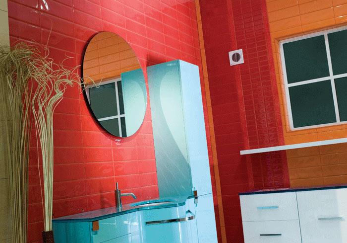 Fürdőszobai páraérzékelős ventilátor